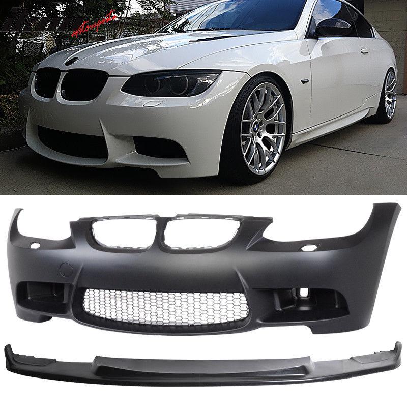 Bmw M3 2010 Car Gurus: IKON 2007-2010 BMW E92 E93 M3 フロントバンパー コンバージョン / エアダクト / H